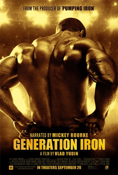 Generation Iron one sheet high-res
