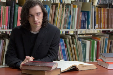Liam Aiken as Ned Rifle in NED RIFLE, directed by Hal Hartley